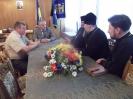 Зустріч голови Дрогобицької райдержадміністрації з єпископом Дрогобицько-Самбірської єпархії