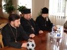 Зустріч керуючого єпархією з керівництвом міста Дрогобича