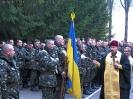 Клірик ДрогобицькоСамбірської єпархії благословив українські миротворчі війська